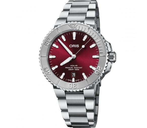Oris Aquis Date Cherry - 01 733 7766 4158 8 22 05 PEB