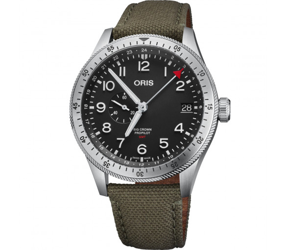 Oris Big Crown ProPilot Timer GMT - 01 748 7756 4064-07 3 22 02LC