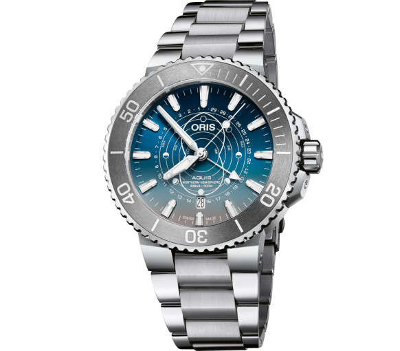 Oris Aquis Date Dat Watt Limited Edition - 01 761 7765 4185-Set