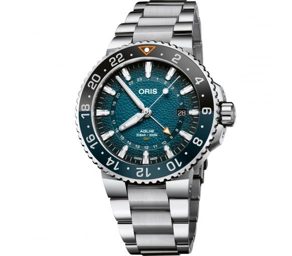 Oris Aquis GMT Date Whale Shark Limited Edition - 01 798 7754 4175-Set