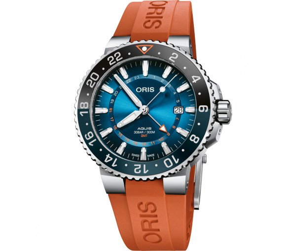 Oris Aquis GMT Date Carysfort Reef Limited Edition - 01 798 7754 4185-Set RS