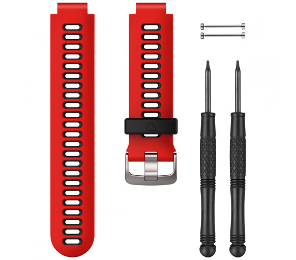 Garmin Lava Red/Black Forerunner® 735XT Watch Band - 010-11251-0N
