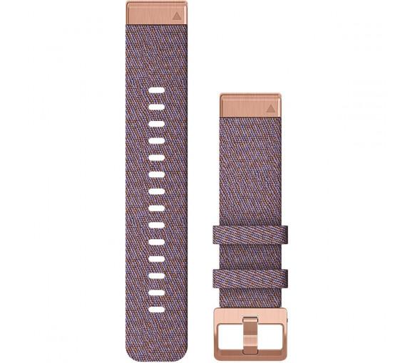 Garmin QuickFit 20 Purple Horizon Nylon Band - 010-12873-00