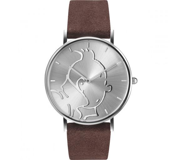 Tintin Classic Silver Brown - 015325