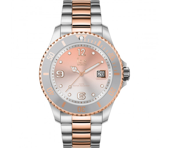Ice-Watch Ice Steel Silver Rosegold - 016769