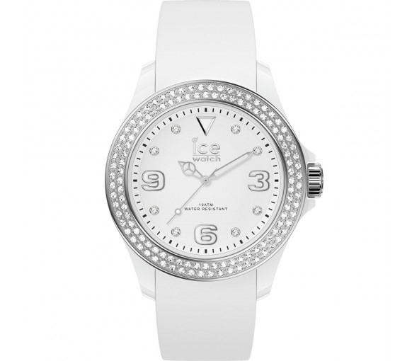 Ice-Watch Ice Star White Silver