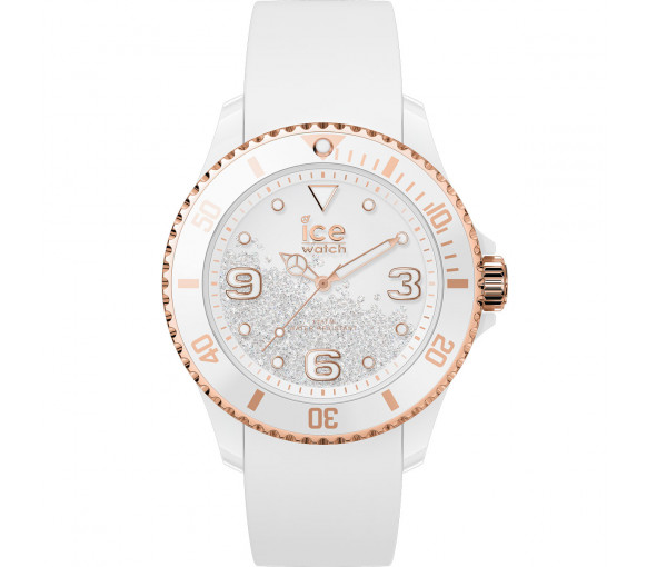 Ice-Watch Ice Crystal White Rosegold - 017248