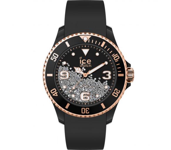 Ice-Watch Ice Crystal Black Rosegold - 017249