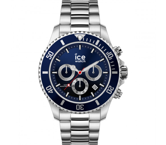 Ice-Watch Ice Steel Marine Silver Chrono - 017672