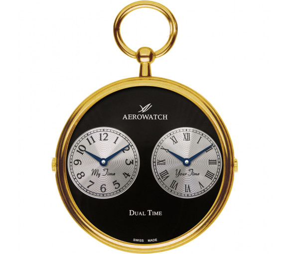 Aerowatch Pocket Watch Collection Dual Time - 05826 JA03