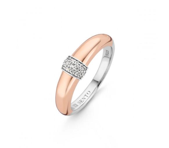 Ti Sento Milano Shimmering Lights Ring - 12151ZR