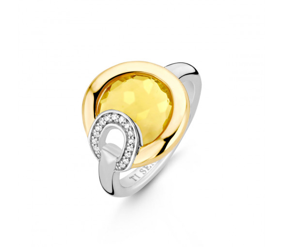 Ti Sento Milano Poolside Reflections Ring - 12159TY
