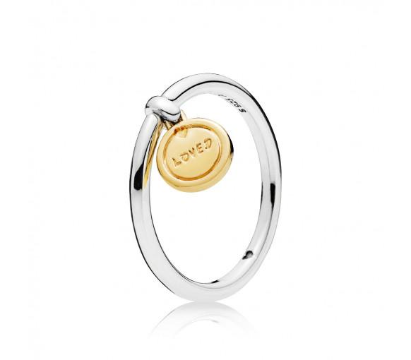 Pandora Medallion of Love Ring - 167823
