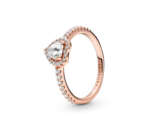 Pandora Rose Sparkling Heart Ring - 188421C02