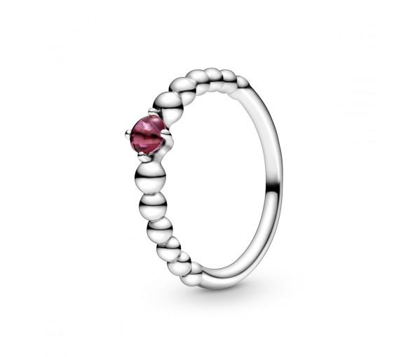 Pandora July Birthstone Beaded Ring - 198867C02