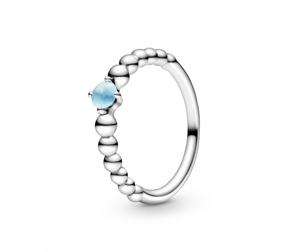Pandora December Birthstone Beaded Ring - 198867C07