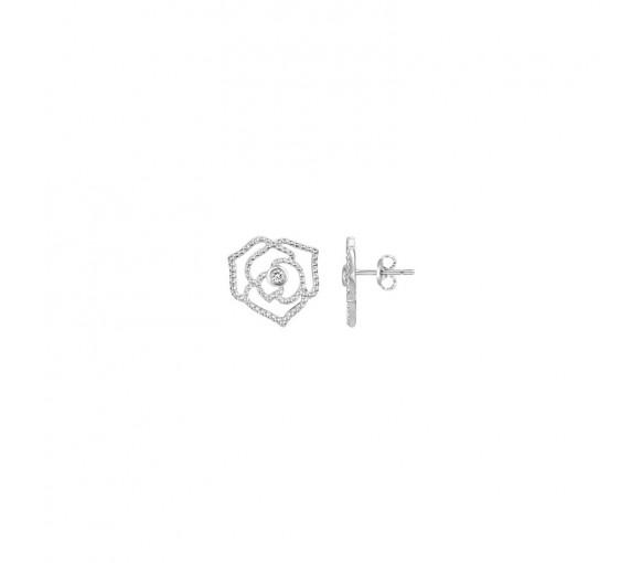 La Garçonne Diamant La Rose Perlee Ohrringe - 20400006