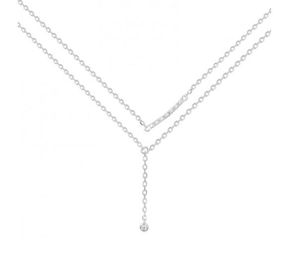La Garçonne Diamant Toi Et Moi Halskette - 20700001
