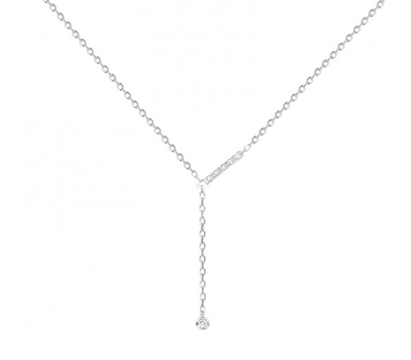 La Garçonne Diamant Toi Et Moi Halskette - 20700002