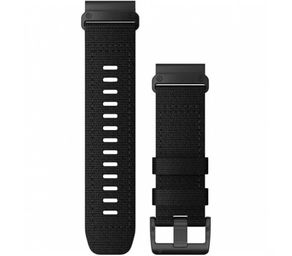 Garmin QuickFit 26 Tactical Black Nylon Band - 010-13010-00