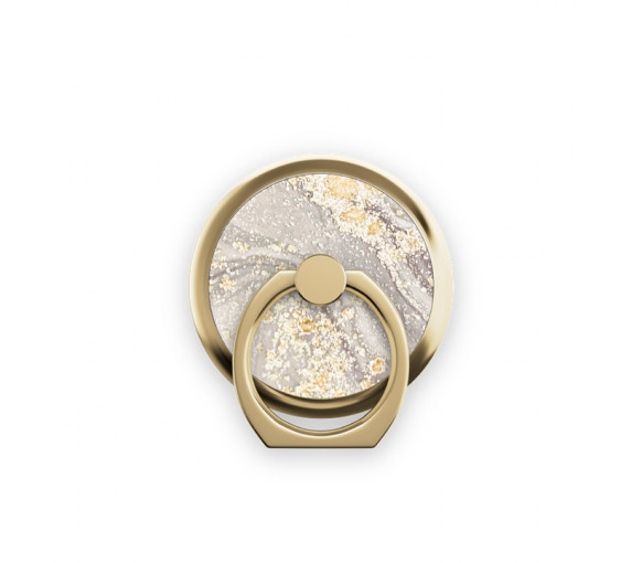 iDeal of Sweden Magnetic Ring Mount Sparkle Greige Marble - IDMRM-121