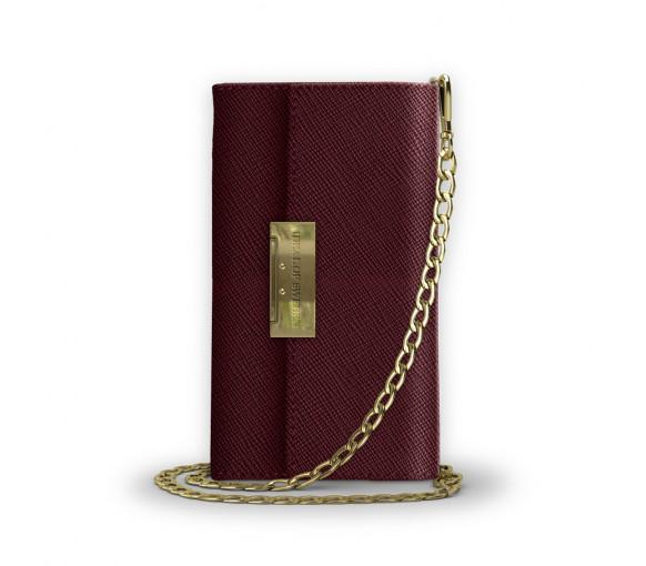 iDeal of Sweden Kensington Crossbody Clutch Burgundy