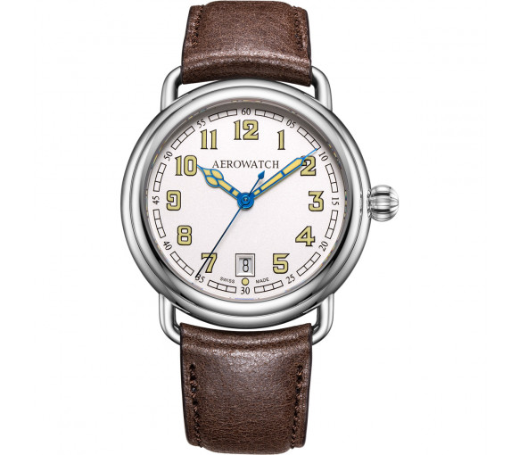 Aerowatch 1942 Collection Gent Quartz - A 42900 AA20