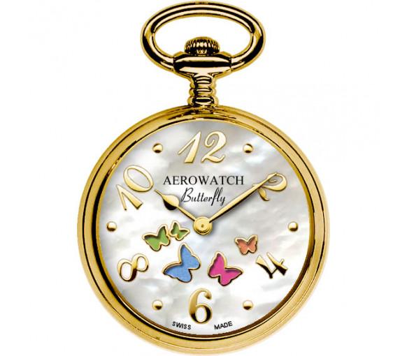 Aerowatch Butterfly Pendant - 44825 JA02