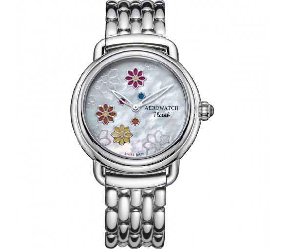 Aerowatch 1942 Collection Floral - A 44960 AA15 M