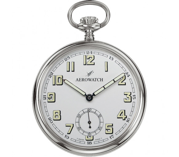 Aerowatch Pocket Watch Collection Mechanical Lépine - 50616 AA04
