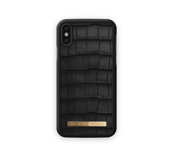 iDeal of Sweden Fashion Case Capri Black Croco
