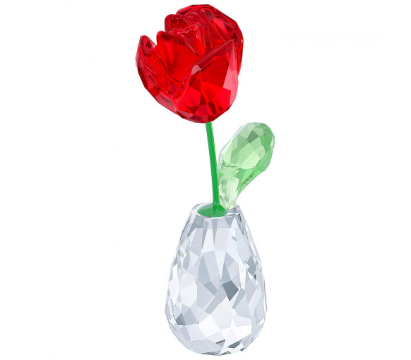 Swarovski Blumenträume Rote Rose - 5254323