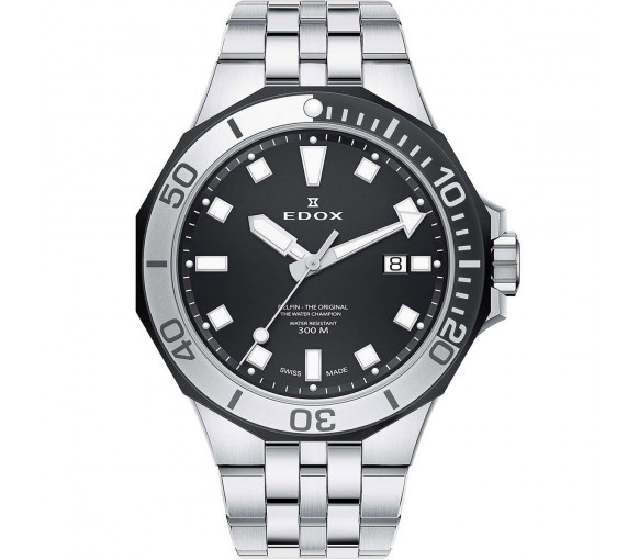 Edox Delfin Diver Date - 53015 357NM NIN
