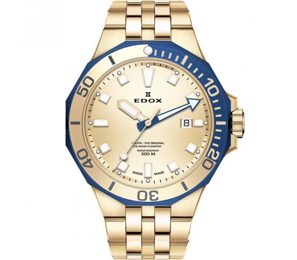 Edox Delfin Diver Quartz - 53015 357JBUM DI