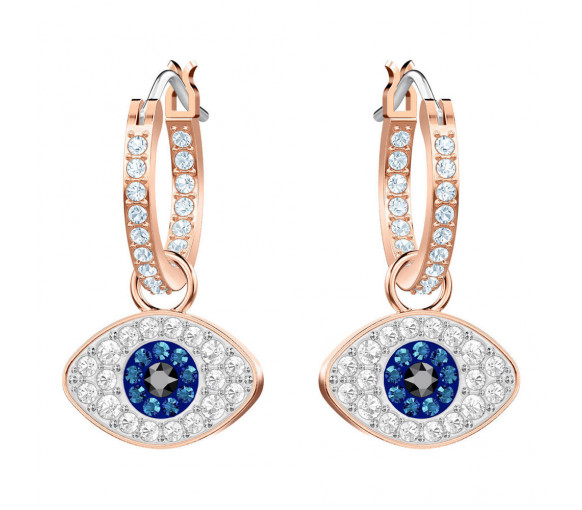 Swarovski Duo Hoop Evil Eye Ohrstecker - 5425857