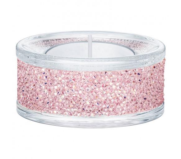 Swarovski Shimmer Tea Light Holder Pink - 5474276