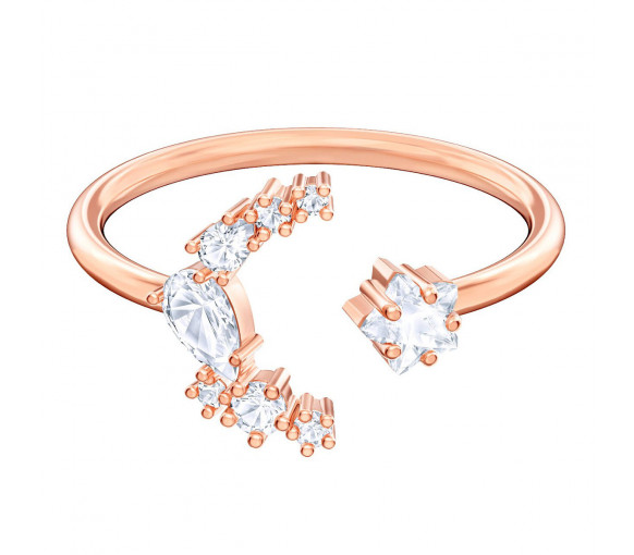 Swarovski Moonsun Ring Moon Rosé