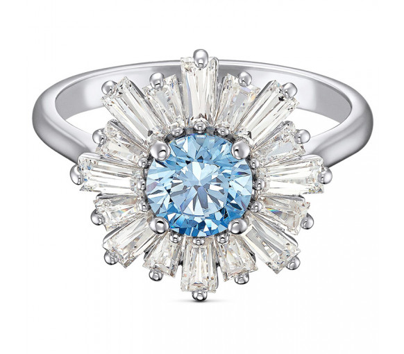 Swarovski Sunshine Ring Blue