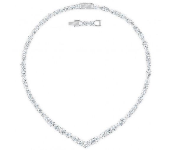 Swarovski Tennis Deluxe Mixed V Halskette - 5556917