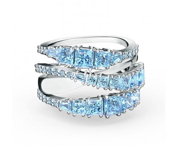 Swarovski Twist Wrap Blue Ring