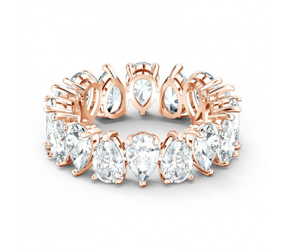 Swarovski Vittore Pear Ring Rosé