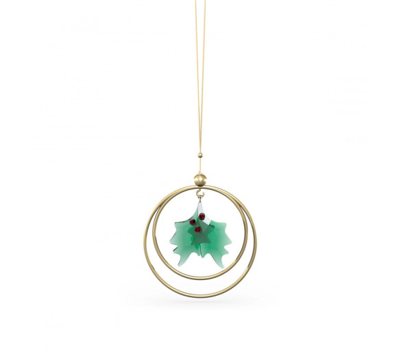 Swarovski Garden Tales Holly Leaves Ornament - 5594495