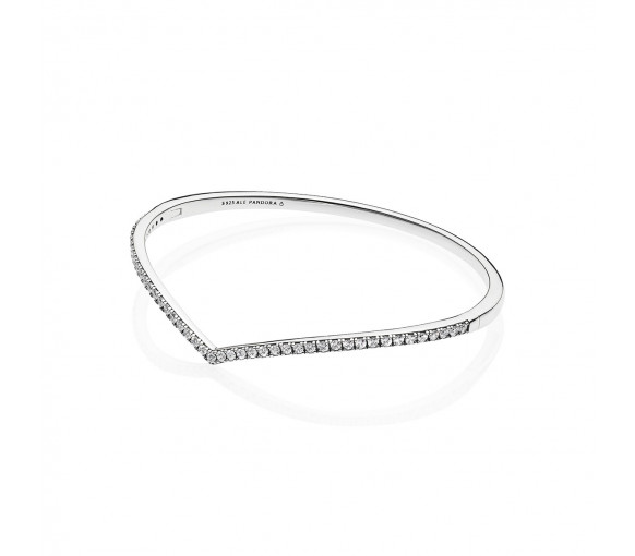 Pandora Wishbone Armreif - 597837CZ