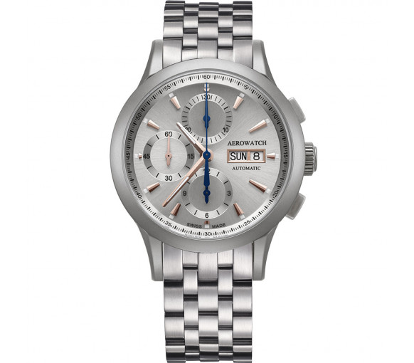 Aerowatch Les Grandes Classiques Chrono Automatic - A 61968 AA02 M + CUIR