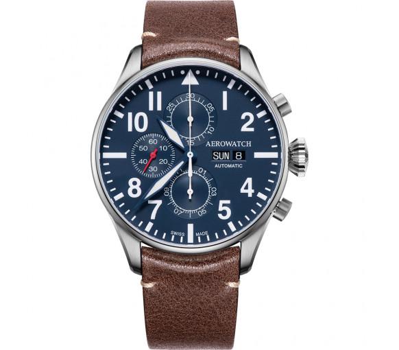Aerowatch Les Grandes Classiques Chrono Pilote Auto - A 61989 AA05