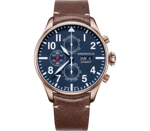 Aerowatch Les Grandes Classiques Chrono Pilote Auto - A 61989 RO05