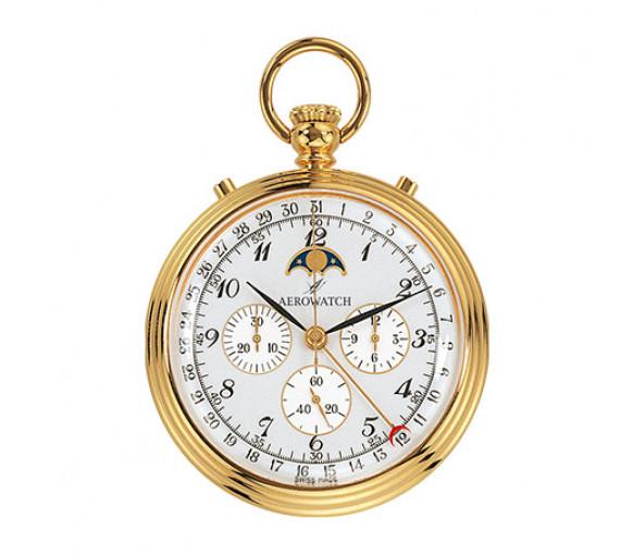 Aerowatch Lépine Mechanical Gold Plated - 69681 J101