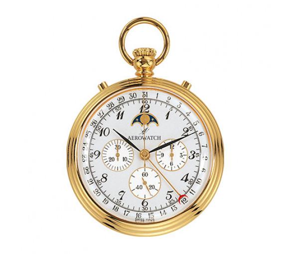 Aerowatch Lépine Mechanical Gold Plated - 69681 J102