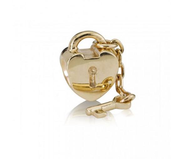 Pandora Key To My Heart Charm - 750341