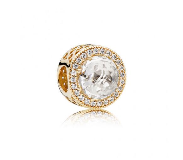 Pandora Goldener Strahlenkranz der Herzen Charm - 750843CZ
